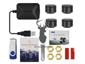 externi senzor tlaku pneumatik android autoradio Sensors USB Android TPMS Car Tire Pressure Monitoring System