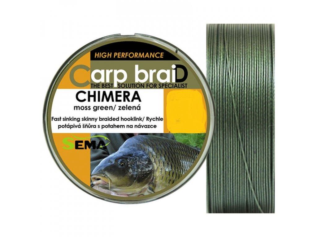 SEMA - Carp Braid CHIMERA návazcová šňůra - 20m / 9.1kg