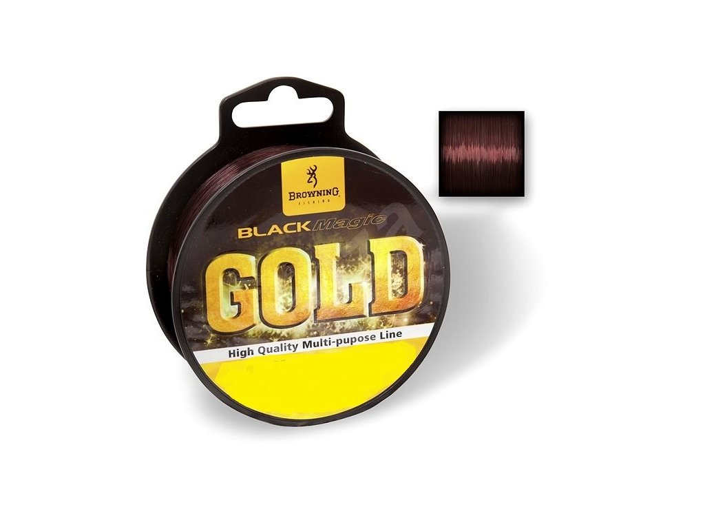BROWNING - vlasec GOLD - 640m / 0.21mm / 3.65kg