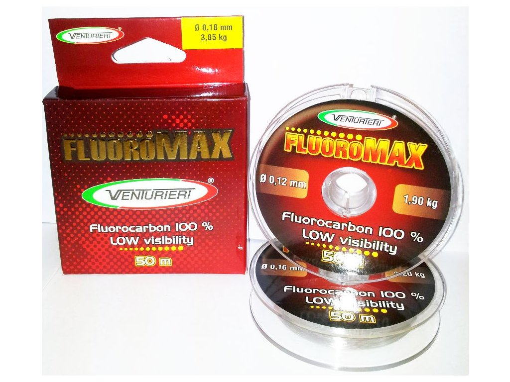 VENTURIERI - vlasec FLUOROMAX - 50m / 0,12mm / 1,9kg