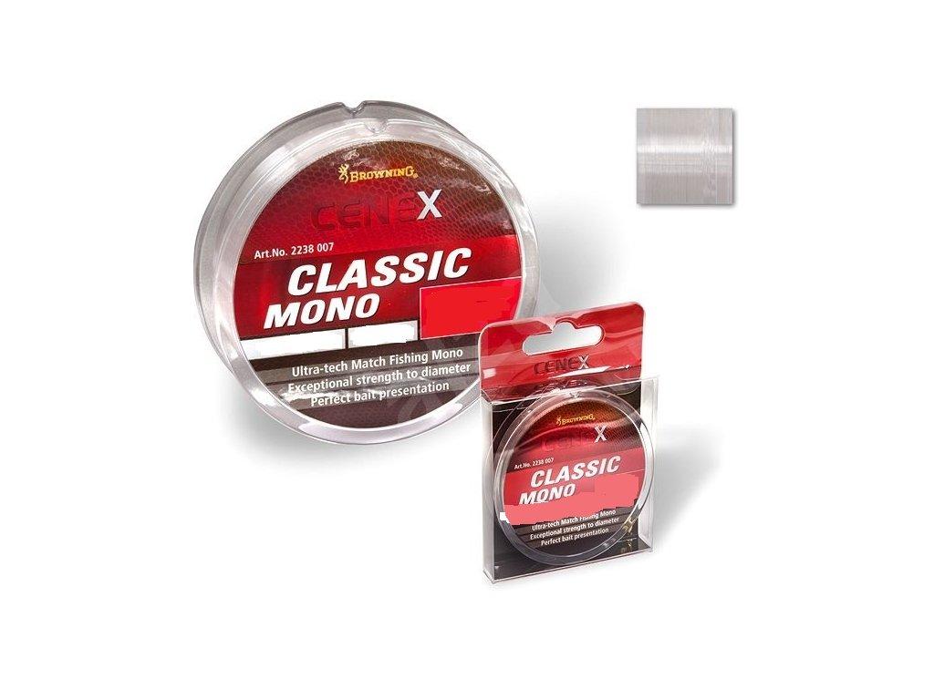 BROWNING - vlasec CENEX Classic Mono - 100m / 0,10mm / 1kg