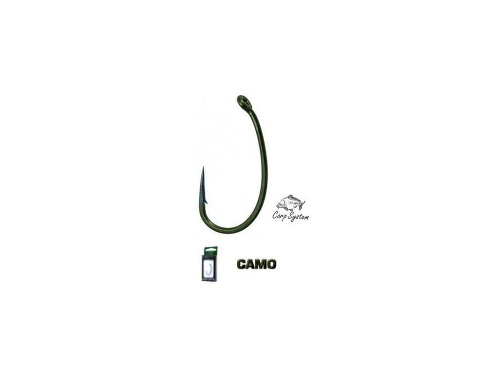 CARP SYSTEM - Háčky CARBON (10ks)
