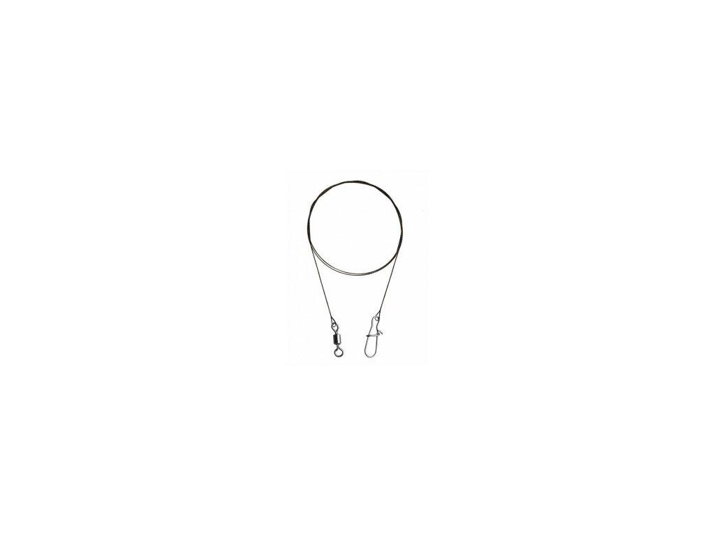 KONGER - Wolframové lanko - 2ks / 2,5kg / 0,10mm / 25cm