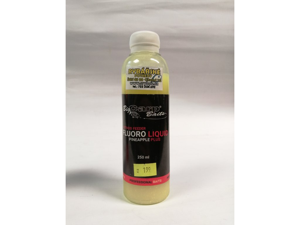 BIG CAPR BAITS - Fluore Essence - Pineapple plus 250ml