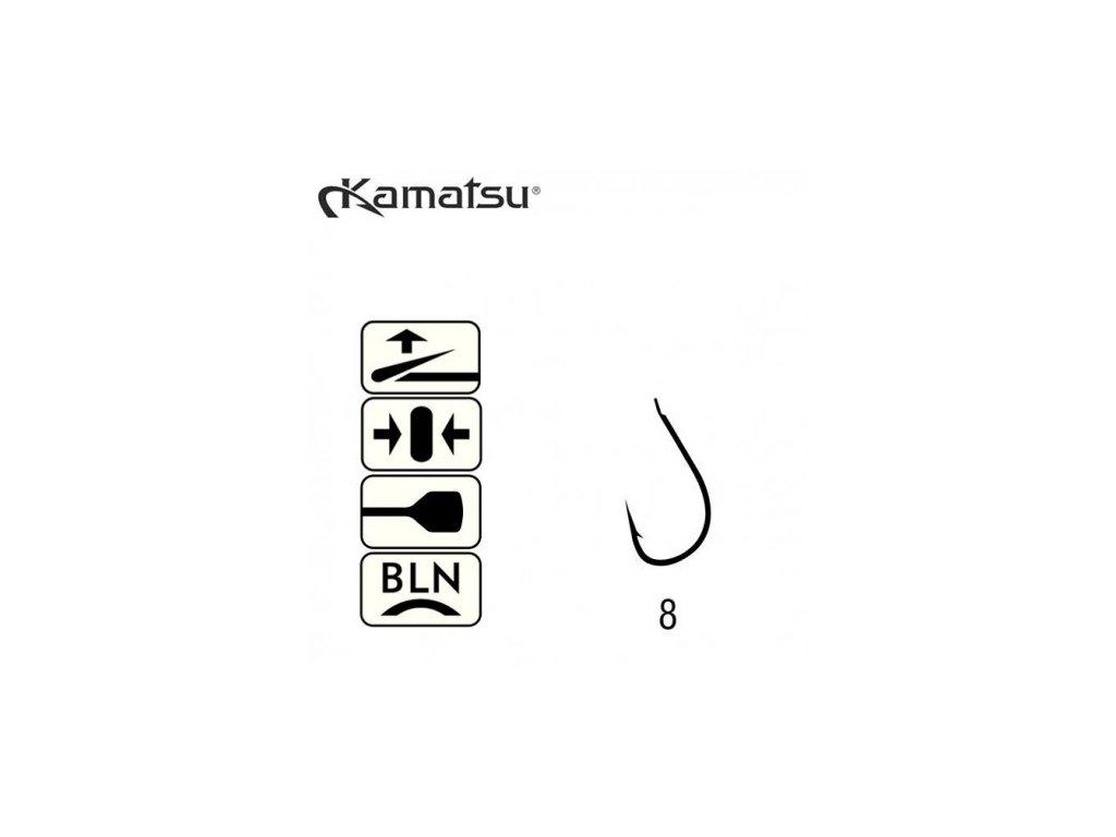 KAMATSU - Háčky TOMARU - vel. 8 / 10ks