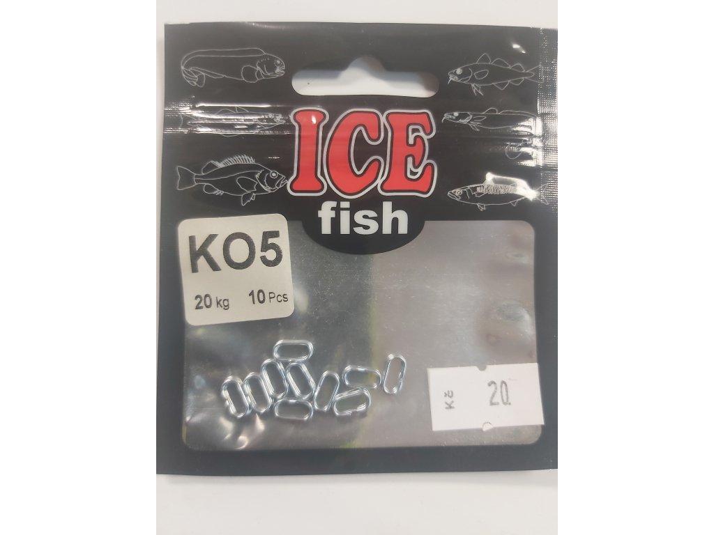 ICEFISH - Pérové kroužky 10x4mm/ 20kg