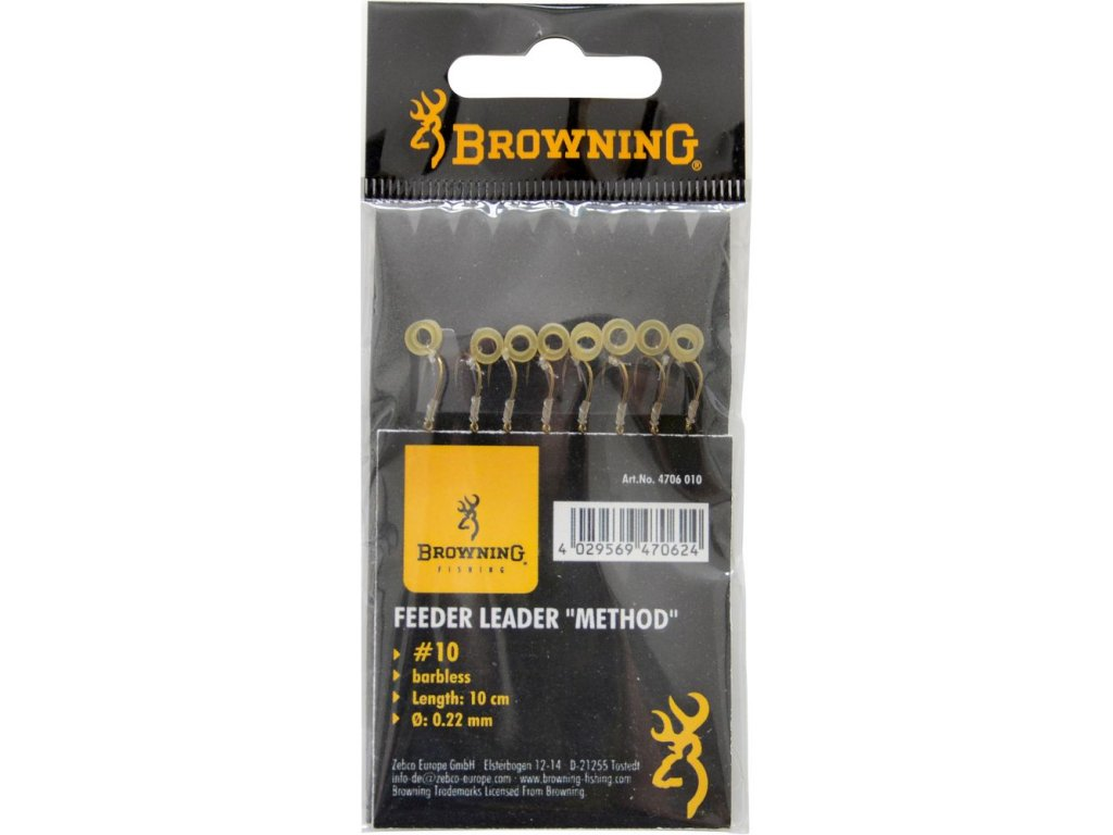 browning feeder leader method