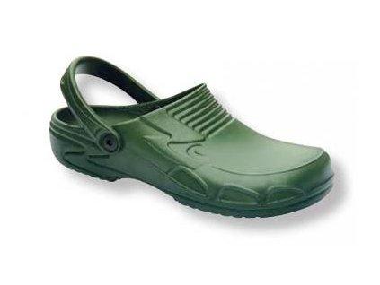 Gumové pantofle 42