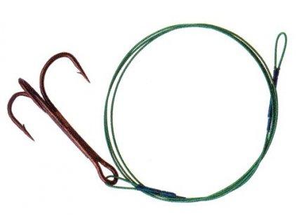 00036_ALBASTAR- Lanko s trojháčkem vel.2/0, 35cm/ 28kg