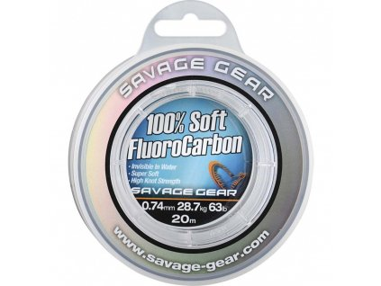 fluorocarbon savage gear soft