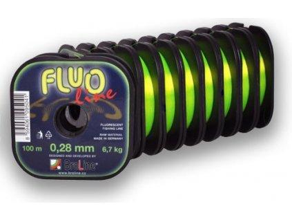 broline vlasec fluo line 300 m
