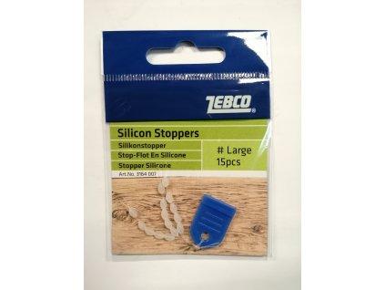 ZEBCO - Silikonový stopper 15ks
