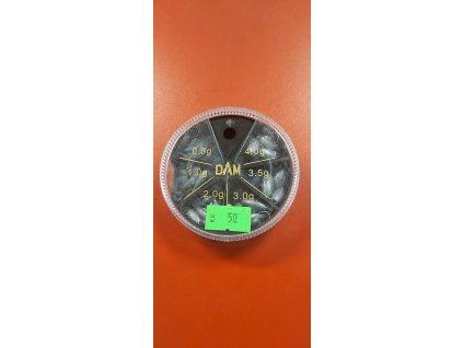 DAM - Sada olůvek 50 kč