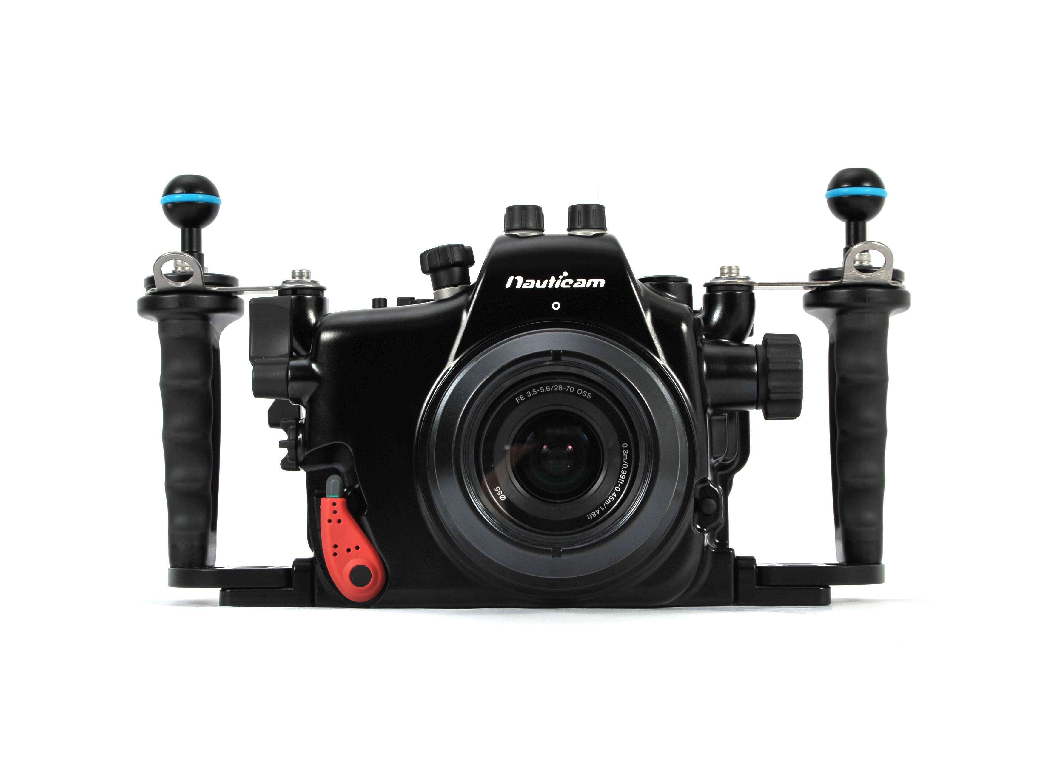 Nauticam MIL pouzdra pro kompaktní fotoaparáty s výměnným objektivem