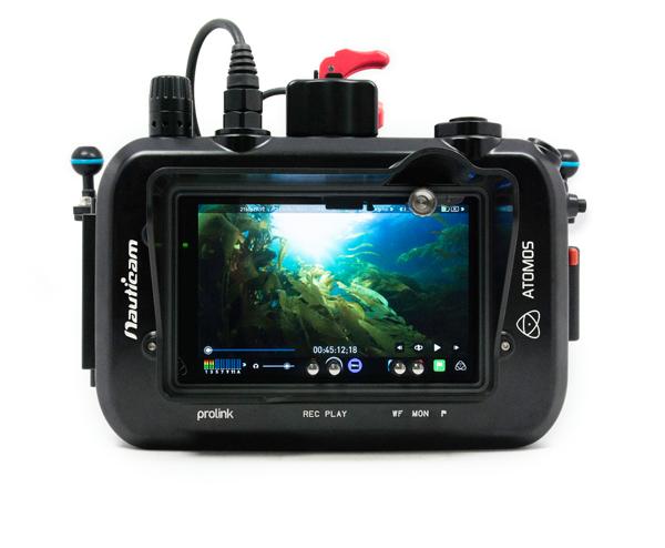 Nauticam pouzdra pro monitory / recordery