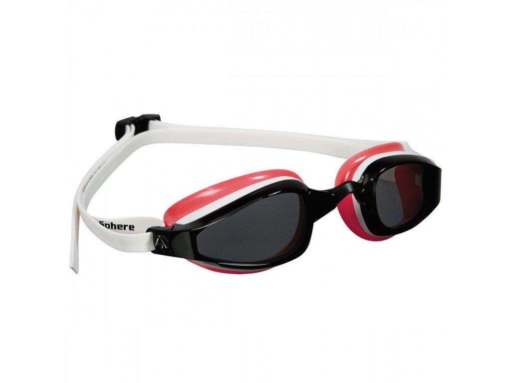 =VÝPRODEJ= Michael Phelps Aqua Sphere plavecké brýle K180 LADY, tmavý zorník, bílá/světle červená