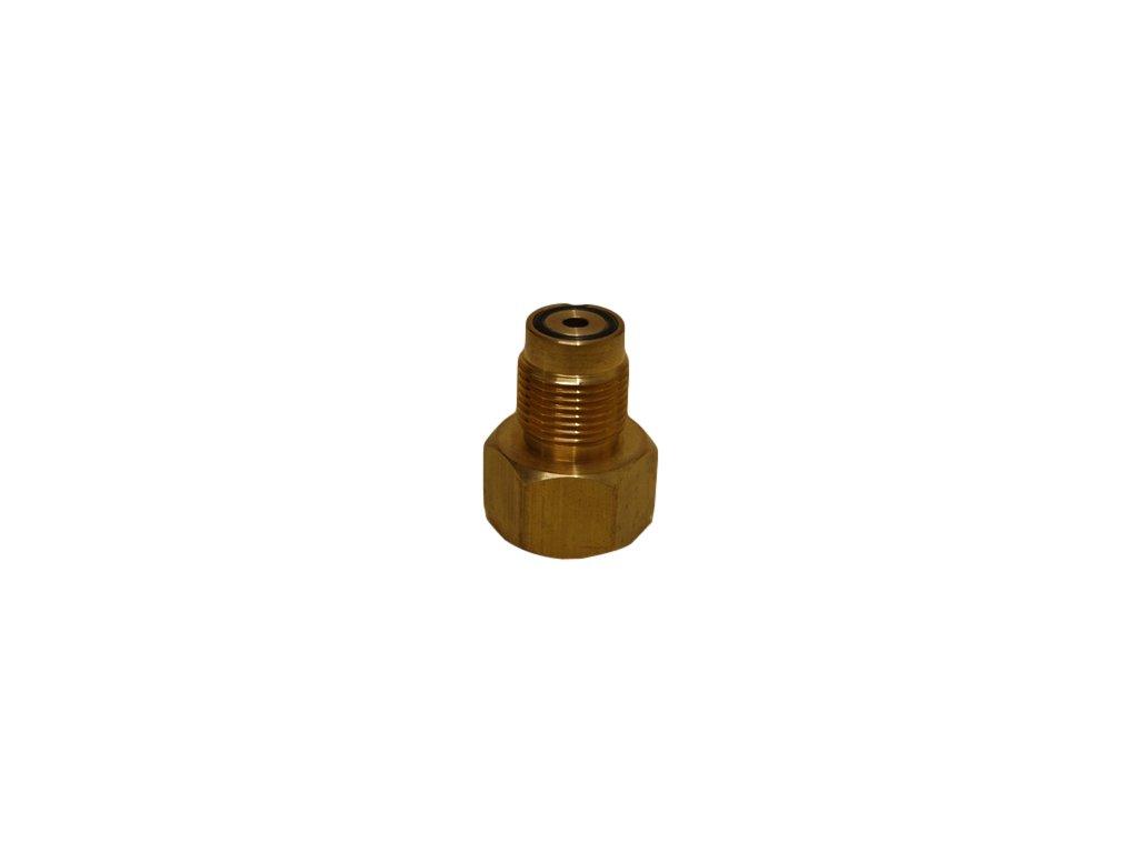 JTLine redukce DIN 200 bar - DIN 300 bar - provedení mosaz