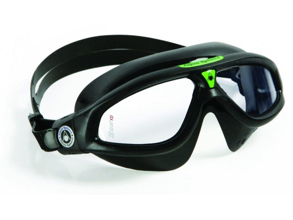 Aqua Sphere plavecké brýle Seal XP čirý zorník zelená