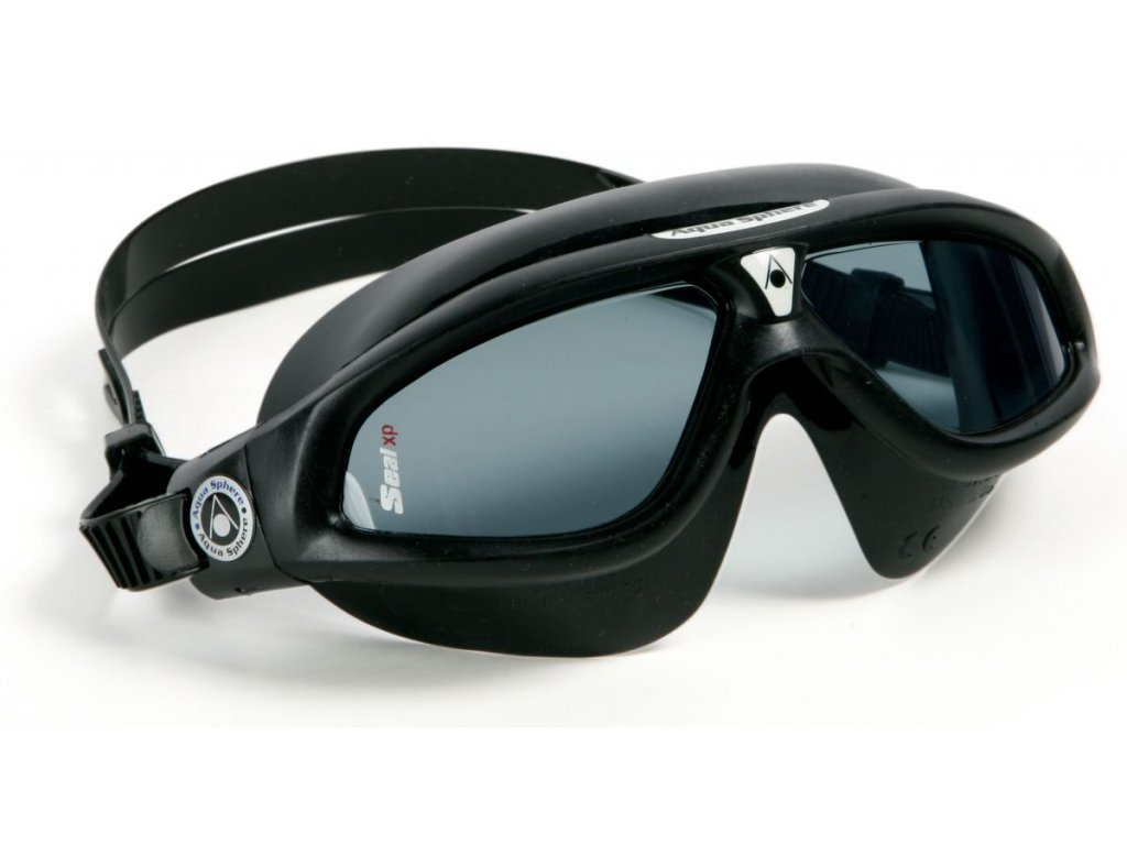 Aqua Sphere plavecké brýle Seal XP tmavý zorník černá