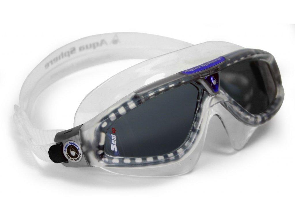 Aqua Sphere plavecké brýle Seal XP tmavý zorník transparentní