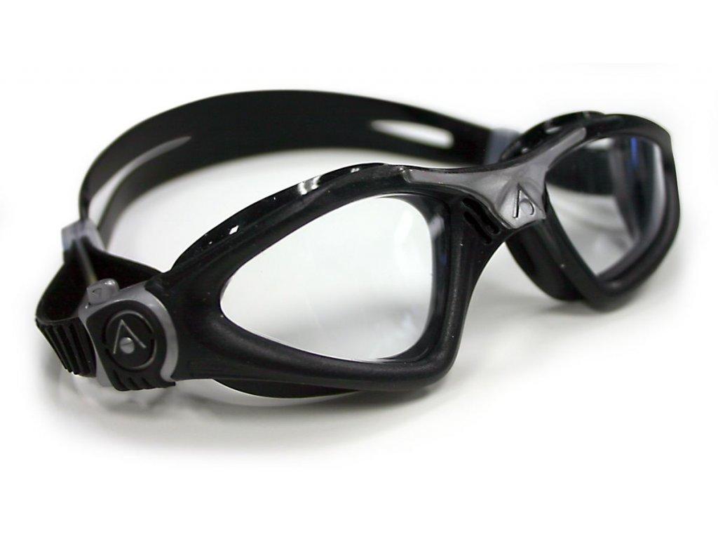 Aqua Sphere plavecké brýle Kayenne čirý zorník stříbrná