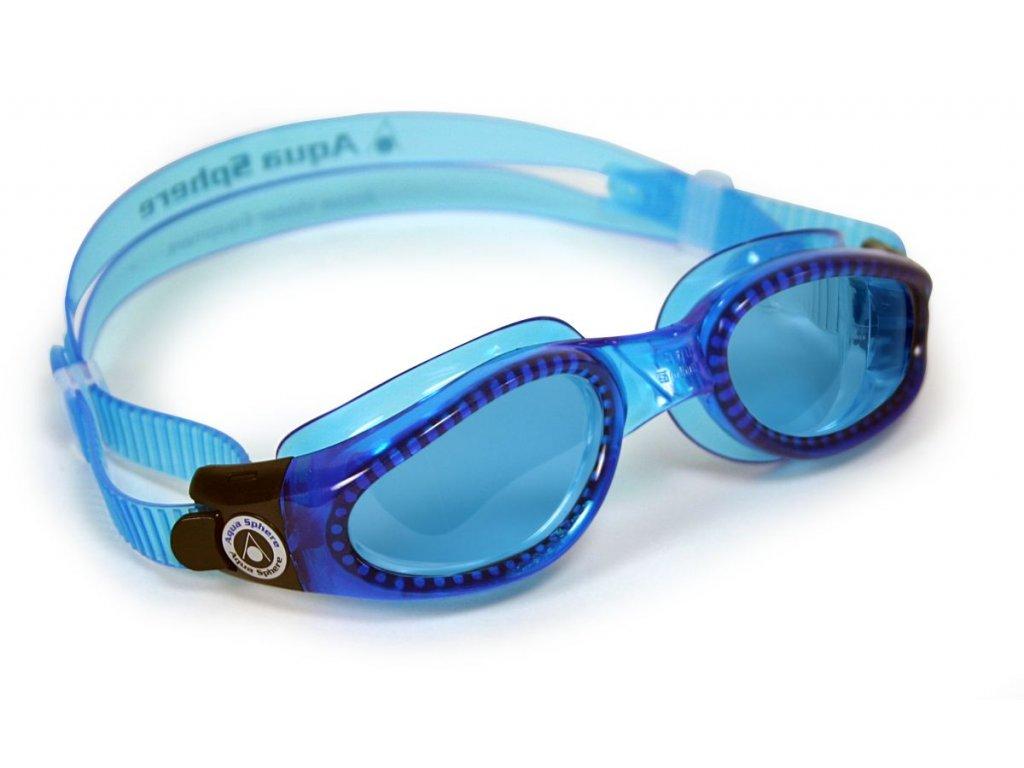 Aqua Sphere plavecké brýle Kaiman modrý zorník modrá