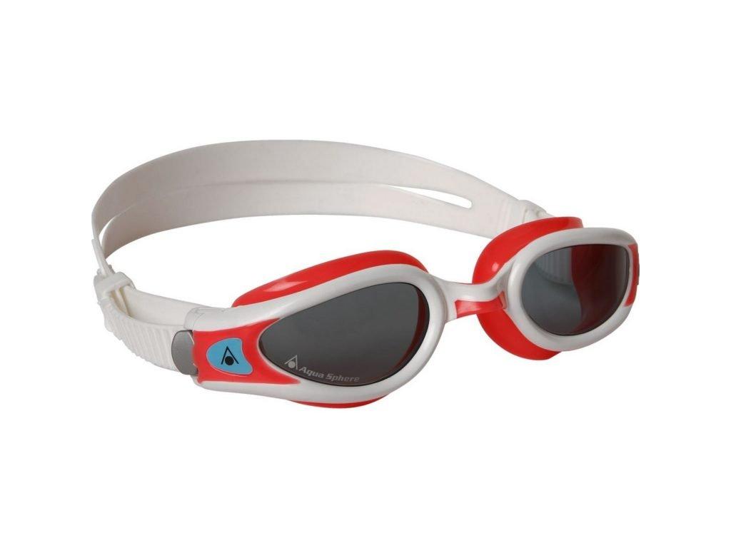 Aqua Sphere plavecké brýle Kaiman Lady čirý zorník světle červená