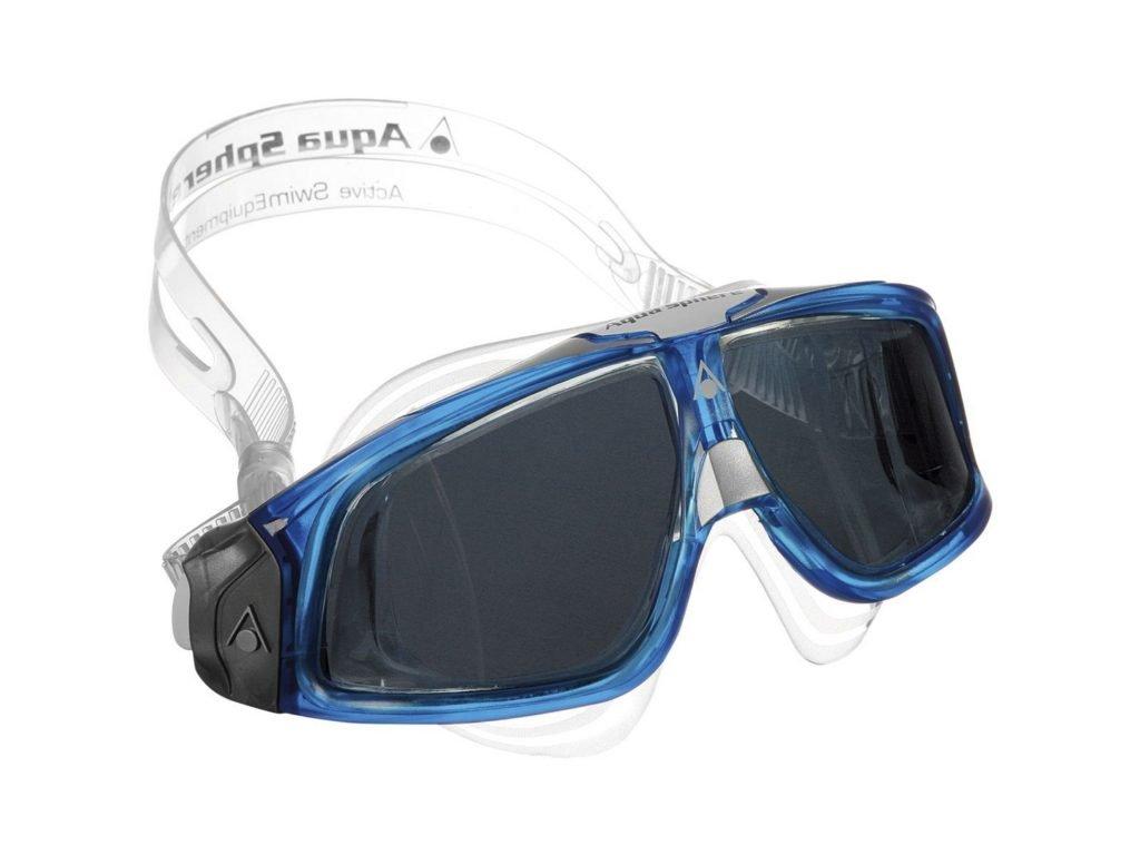 Aqua sphere SEAL 2 0 tmavý zorník světle modrá