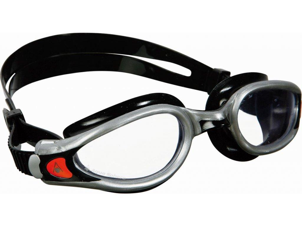 Aqua Sphere plavecké brýle Kaiman EXO čirý zorník stříbrná