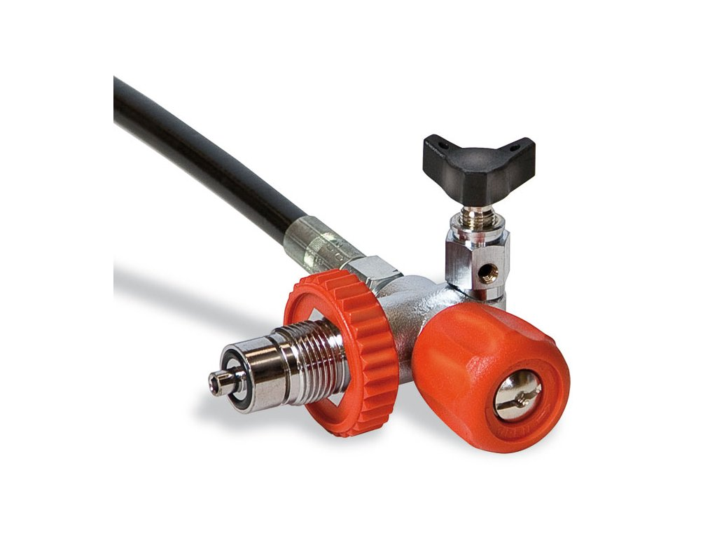 JTLine plnící ventil DIN 300 bar, EU