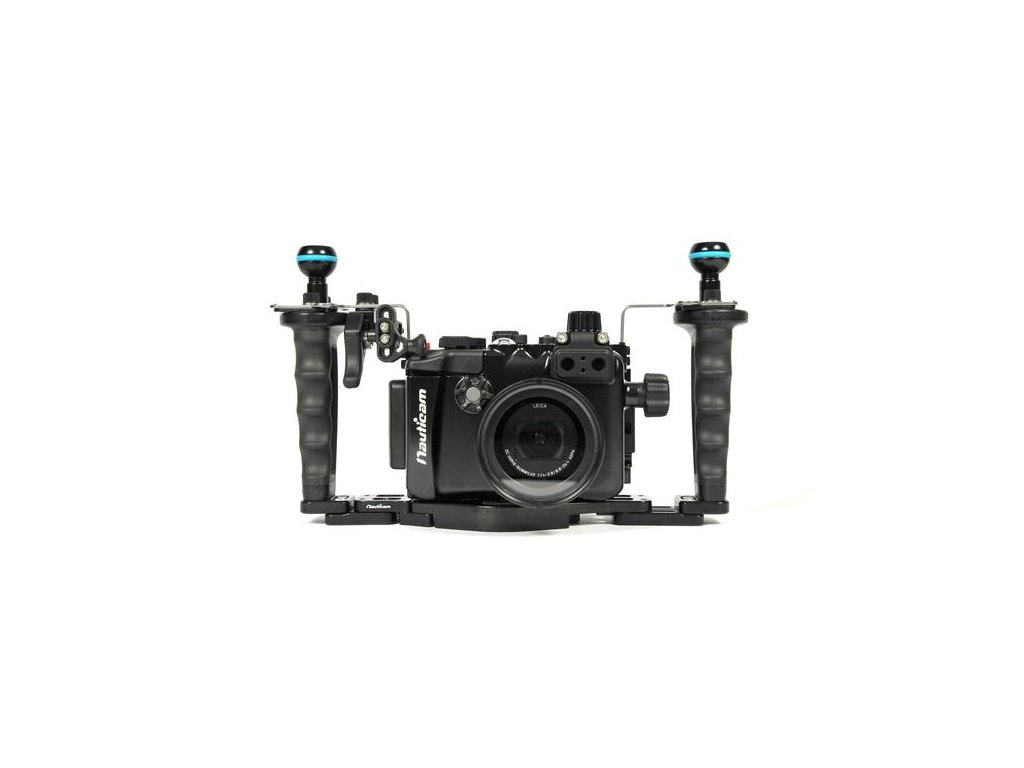 Nauticam NA-LX10 Pro Package(Inc.flexitray, right handle, two mounting balls,M14 vacuumvalve, shutter extension)