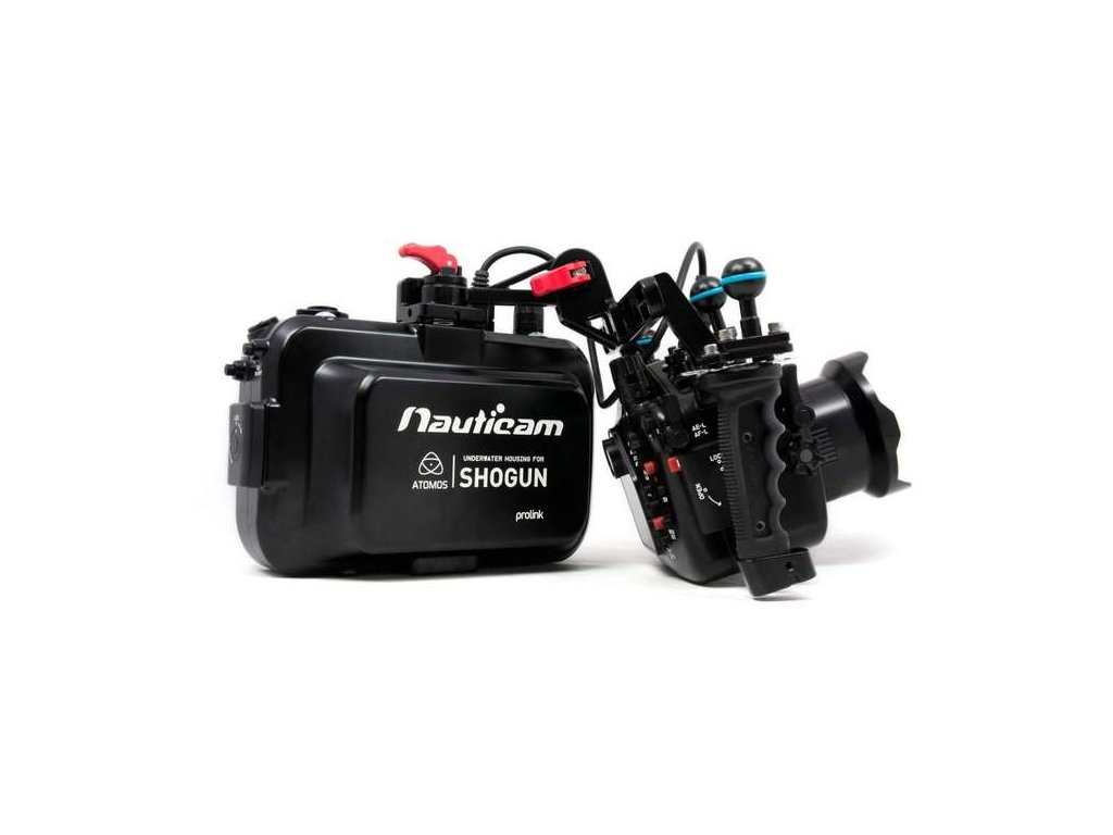 Nauticam Nauticam Atomos Shogun Housing for Atomos Shogun and Assassin 10-bit 4K SDI / HDMI Recorder/Monitor/Player (with HDMI input)