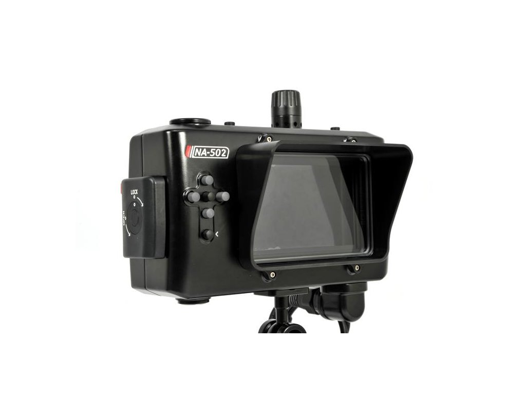 Nauticam NA-502S housing for Small HD 502 5-inch HD monitor with SDI input support