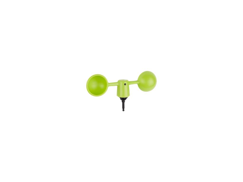 Vaavud anemometr, zelený