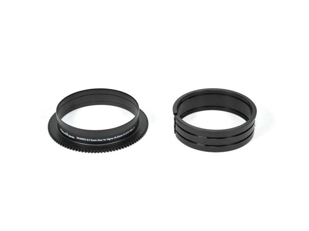 Nauticam SN1835f1.8-Z Zoom gear for Sigma 18-35mm F1.8 DC HSM | A