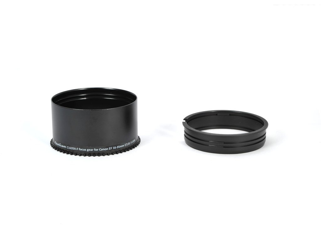 Nauticam C1635II-F focus gear for Canon EF 16-35mm f/2.8L II USM (for use with 21270)