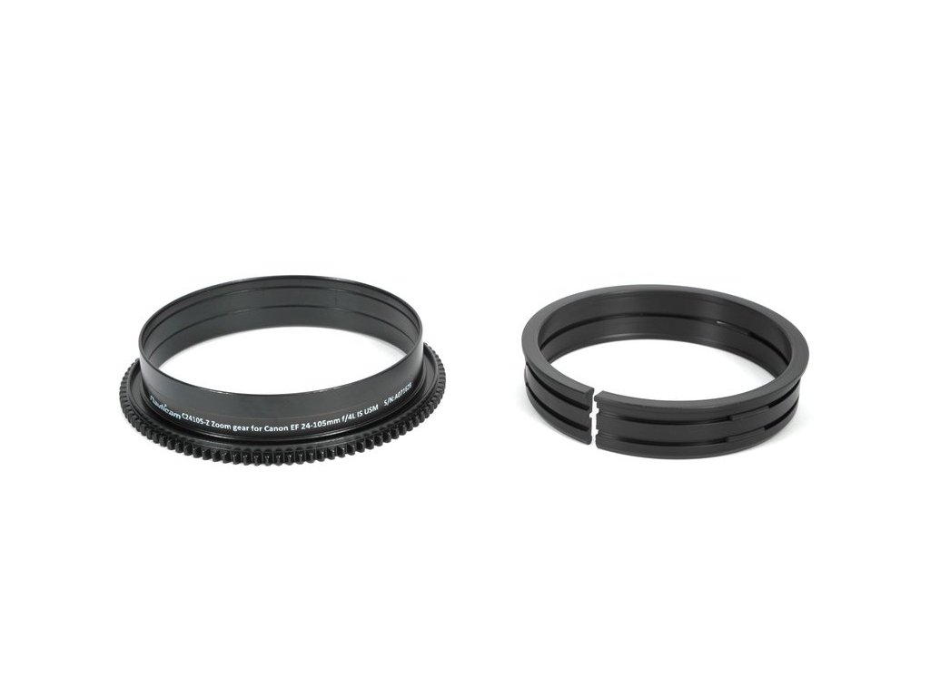 Nauticam C24105-Z Z00m gear for Canon EF 24-105mm f4L IS USM