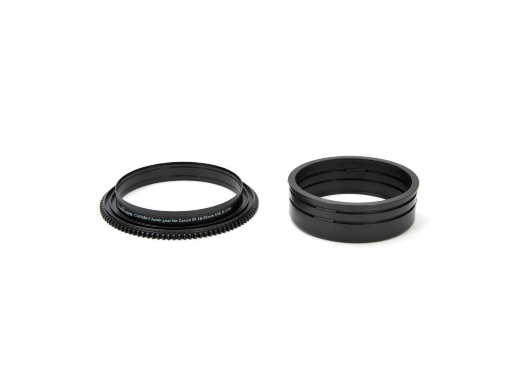 Nauticam C1635f4-Z Zoom gear for Canon EF 16-35mm f/4L IS USM