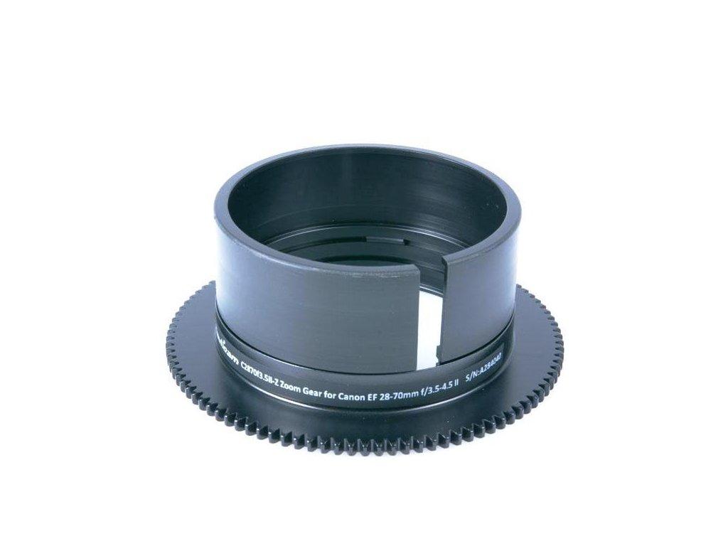 Nauticam C2870f3.5II-Z Zoom Gear for Canon EF 28-70mm f/3.5-4.5 II