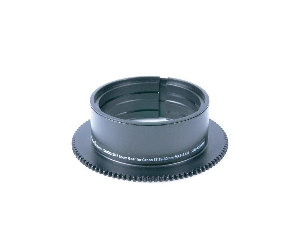 Nauticam C2880f3.5II-Z Zoom Gear for Canon EF 28-80mm f/3.5-5.6 II