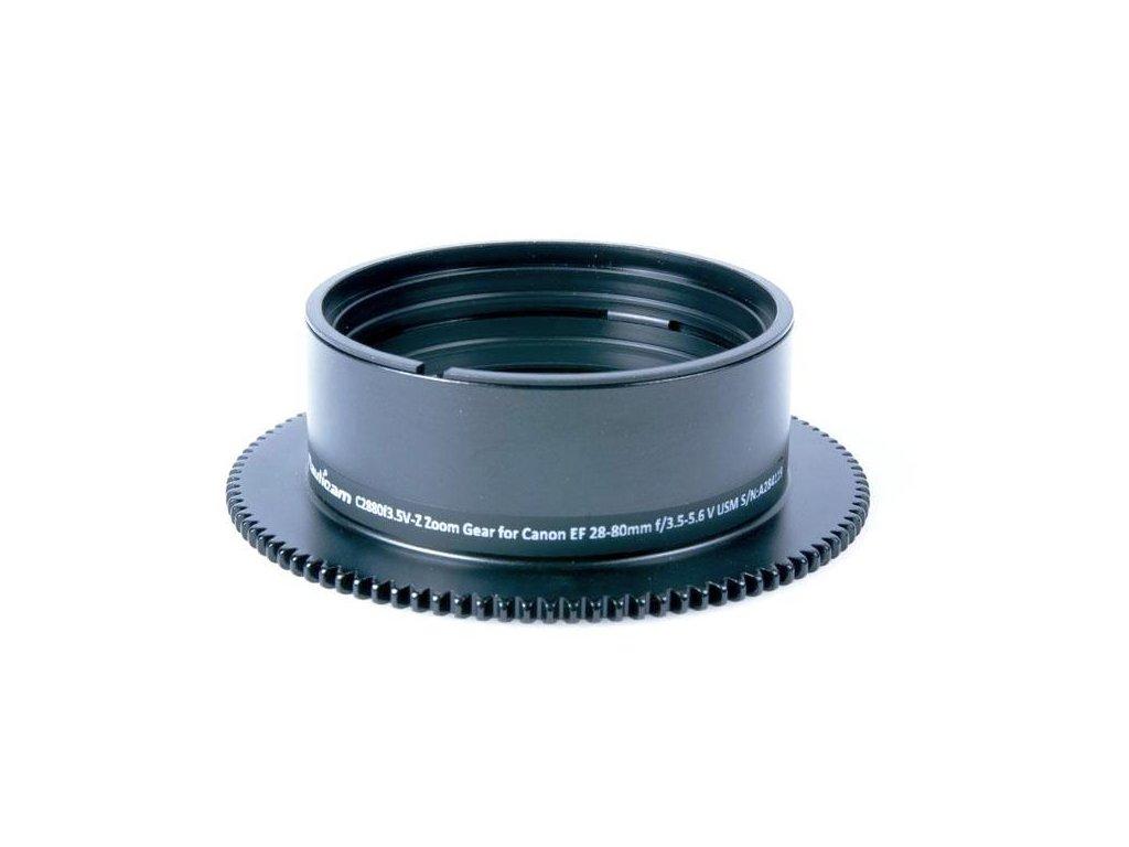Nauticam C2880f3.5V-Z Zoom Gear for Canon EF 28-80mm f/3.5-5.6 V USM