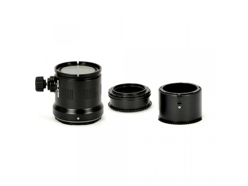 Nauticam Macro Port and Zoom gear set for Olympus M.Zuiko Digital ED 12-50mm F3.5-6.3 EZ