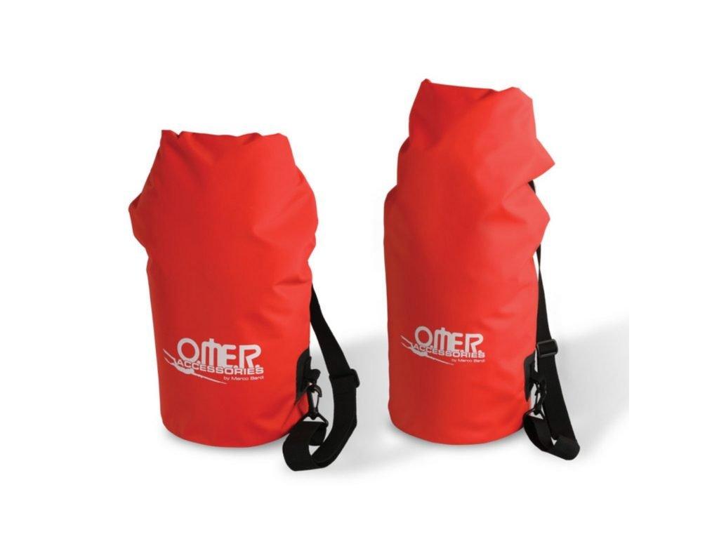 Omer suchý pytel červený, HIGH VISIBILITY DRY BAG