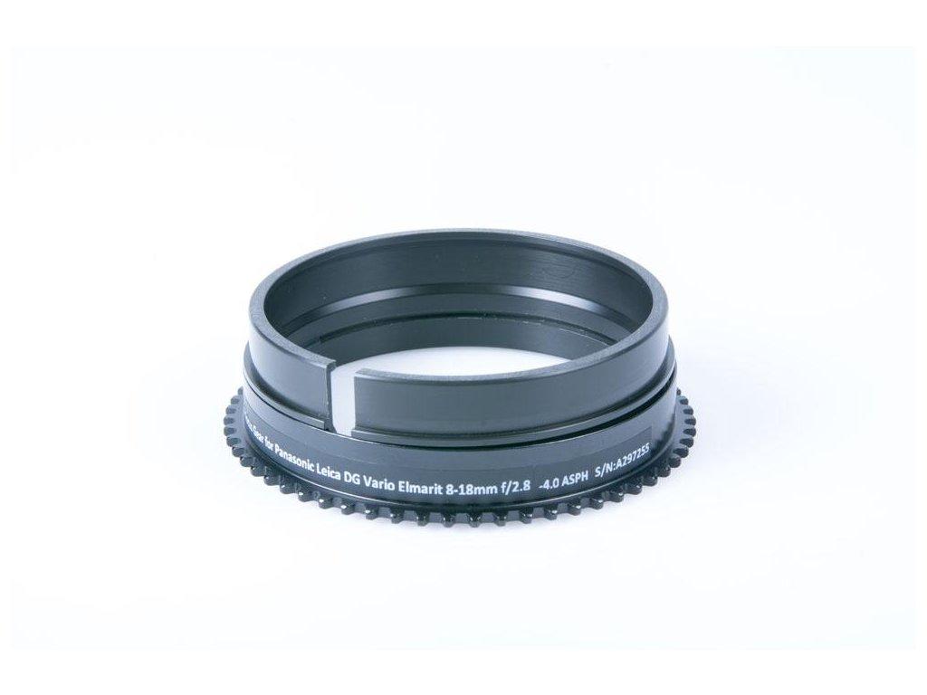 Nauticam PL818-F Focus Gear for Panasonic Leica DG Vario Elmarit 8-18mm f/2.8-4.0 ASPH