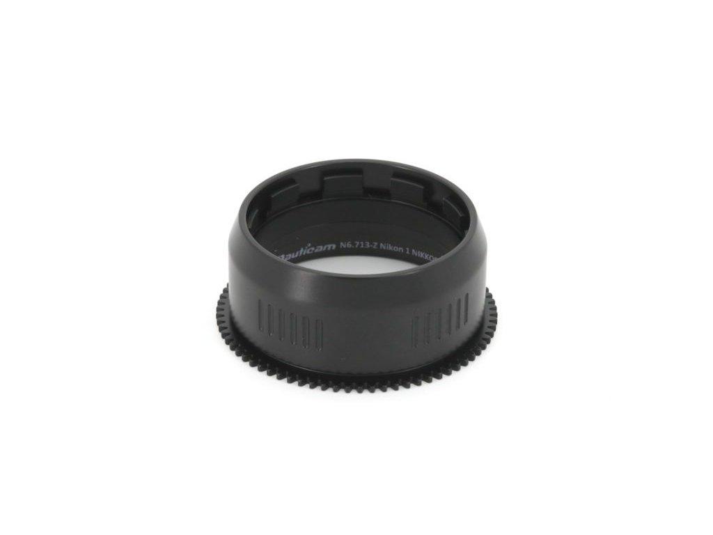Nauticam N6.713-Z Nikon 1 NIKKOR VR 6.7-13mm f/3.5-5.6 zoom gear