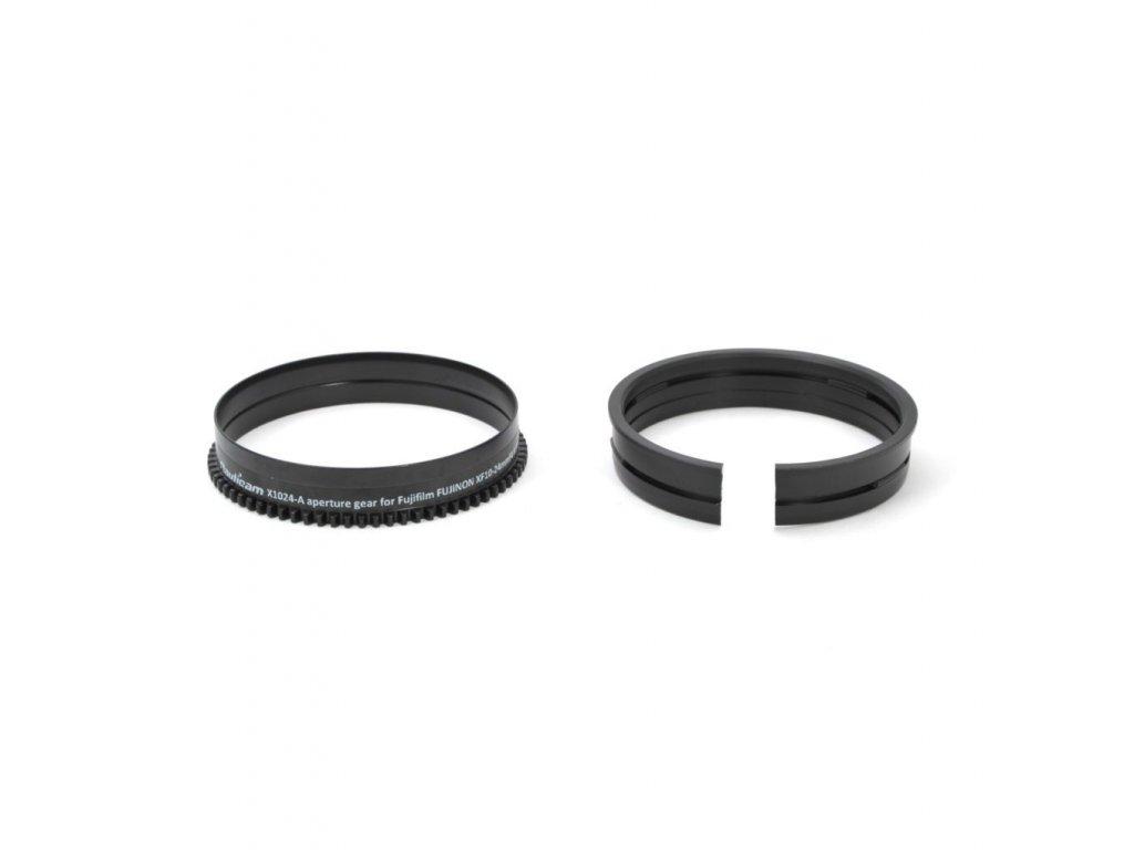 Nauticam X1024-A aperture gear for Fujifilm FUJINON XF10-24mmF4 R OIS