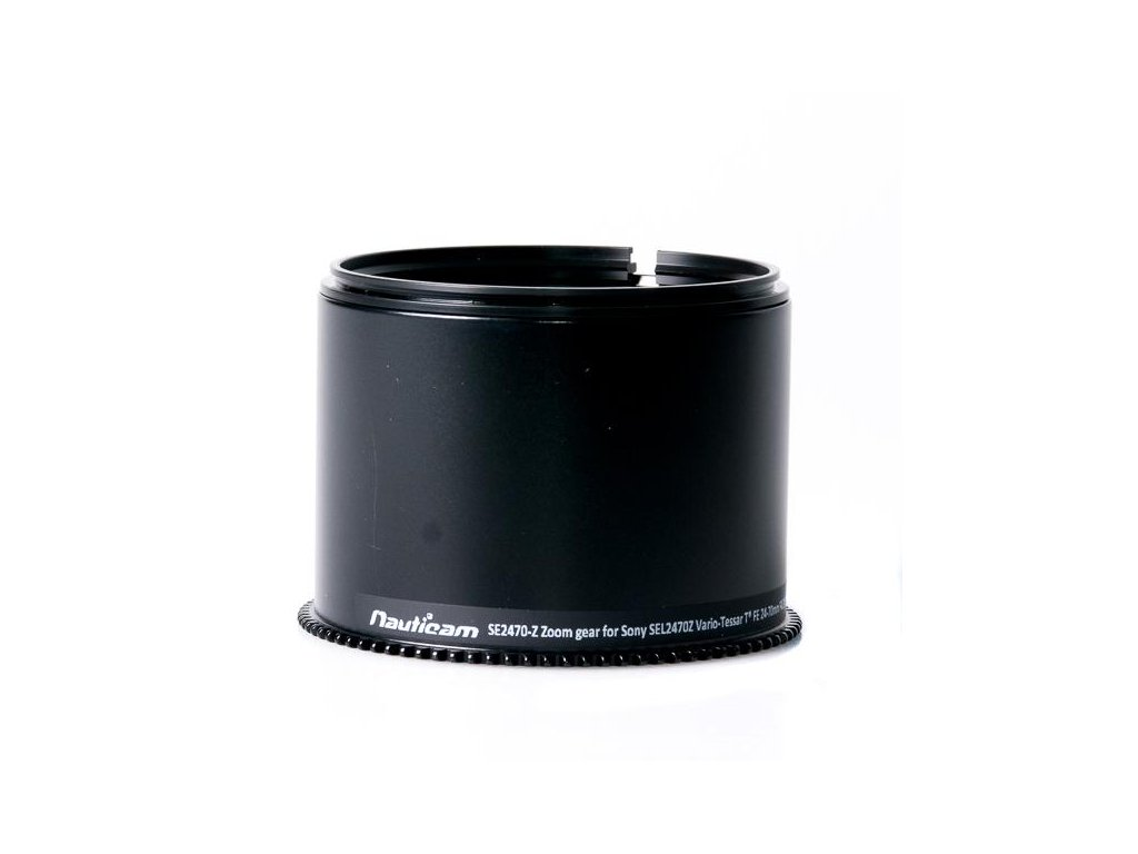 Nauticam SE2470-Z Zoom gear for Sony SEL2470Z Vario-Tessar T* FE 24-70mm F4 ZA OSS (to use with 37148)