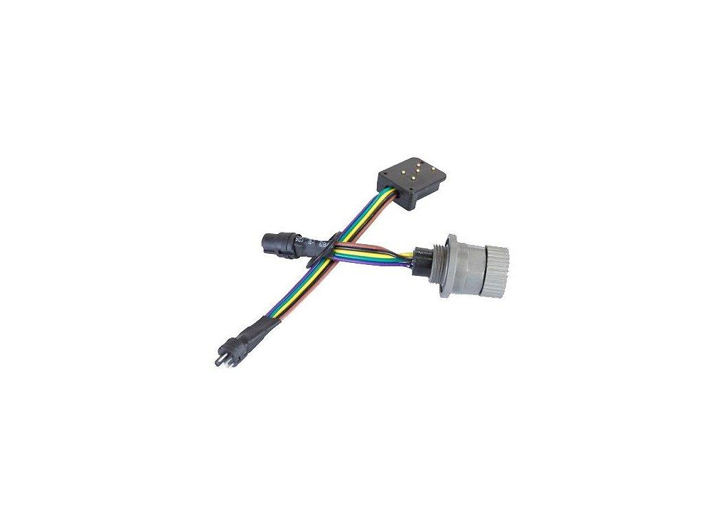 Nauticam Canonhotshoe plug to aM14 Nikonos bulkhead (x and ground connection only)