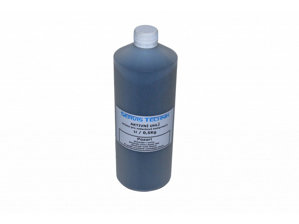 JTLine aktivní uhlí 1l / 0.5 Kg