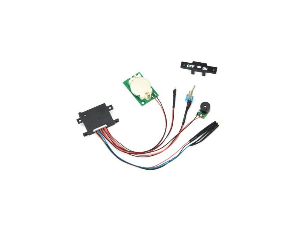 Nauticam Vacuum Detection/Moisture Alarm PCB set (incl. on/off switch and mount, buzzer, moisture sensor,  CR2540 battery holder and 4 colour LED; 2pcs Panasonic CR2540 batteries incl.)